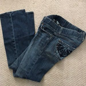 Luck brand maternity jeans